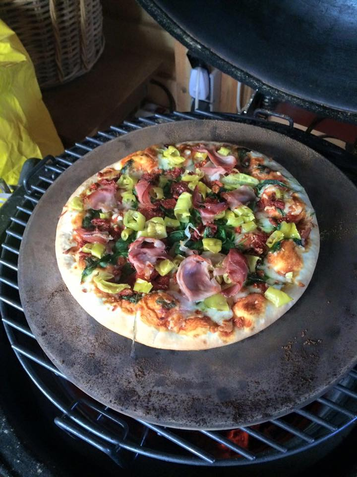 Ceramic Stones For Bbq : Pizza stone topq